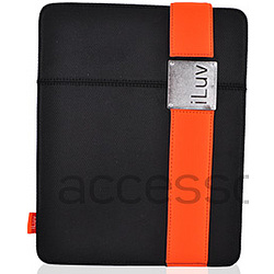 Apple iPad Textile Case with Leather Band Clip