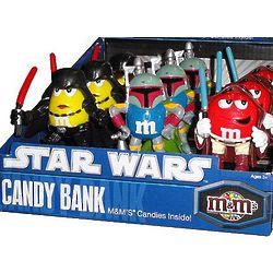 M & M Star Wars Coin Bank