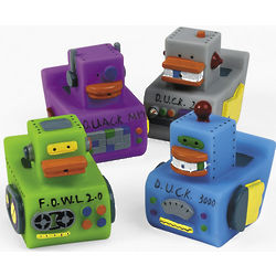 Robot Rubber Duckies