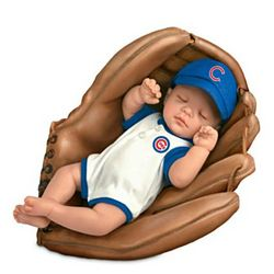 Chicago Cubs Born a Cubs Fan Baby Boy Doll