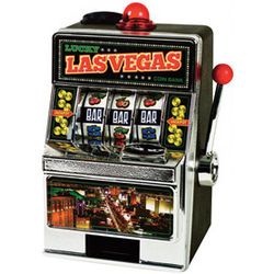 Lucky Las Vegas Slot Machine Coin Bank