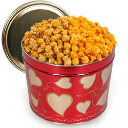 Valentine's Day Classic Chicago Mix Popcorn Tin