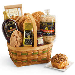 Hearty Breakfast Gift Basket