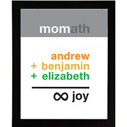 Personalized Mom Infinite Joy Framed Print