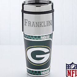 Green Bay Packers Personalized Travel Mug