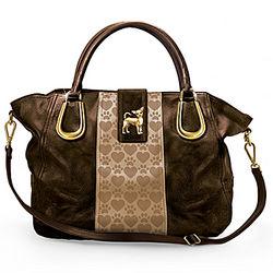 Chihuahua Love Satchel-Style Handbag