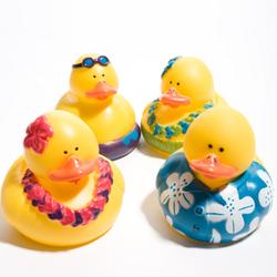 Luau Rubber Duck