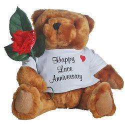 13th Anniversary Teddy Bear