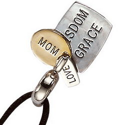 Mother's Attributes Charm Necklace