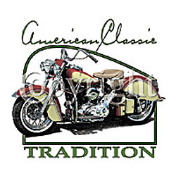 American Classic-Motorcycle T-Shirt