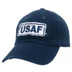 Air Force Giant Stitch Rapid Dominance Navy Blue Polo Cap