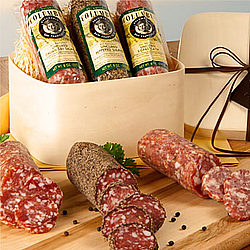 Naturally Crafted Salame Gift Box