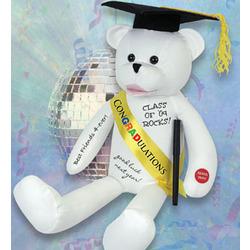 Singing Autograph Graduation Bear