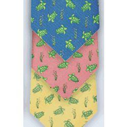 Silk Sea Turtle Tie