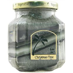 Christmas Tree Deco Jar Candle