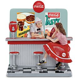 Have A Coke Figurine of the All-American Diner
