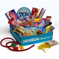 1970's Nostalgic Candy Gift Box