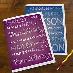 My Name Personalized Student Folders