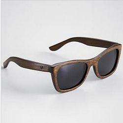 Brown Panda Wood Monroe Sunglasses