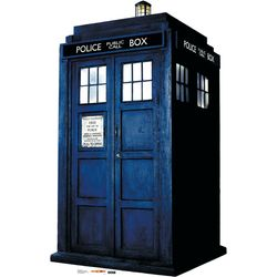 Doctor Who Tardis Stand Up Cardboard Cutout