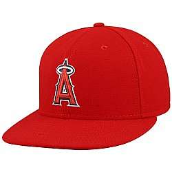 Los Angeles Angels of Anaheim Red Fitted Hat