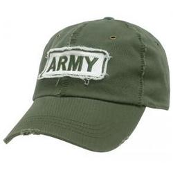 Army Giant Stitch Rapid Dominance Olive Polo Cap