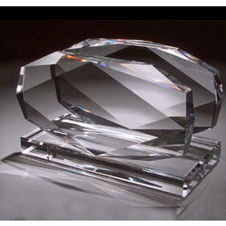 Diamond Crystal Business Card Holder