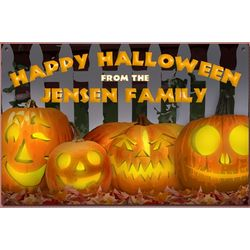Personalized Jac O Lanterns Sign
