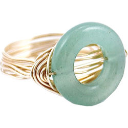Women's O Jade Ring