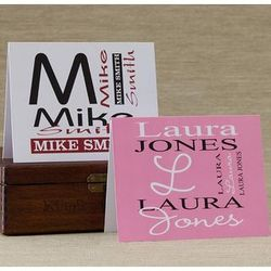 Personalized Note Card Stationery