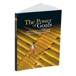 The Power of Goals Quote Book