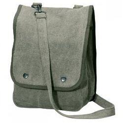 Stonewashed Map Case Shoulder Bag