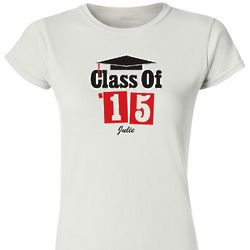 Personalized Graduation Fitted T-Shirt