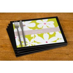 Personalized Floral Designs Placemats