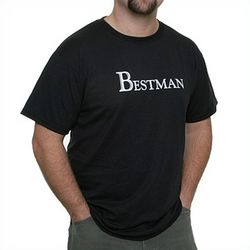 Best Man's Black T-Shirt