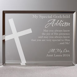 Special Godchild Personalized Plaque