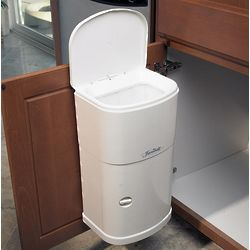 Cabinet Trash Can with Automatic Lid