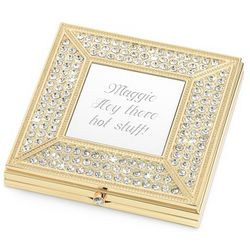 Pave Brilliance Compact Mirror