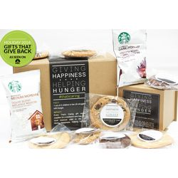Homemade Cookies and Starbucks Coffee Gift Box