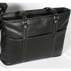 Womens Leather Tote and Computer Bag