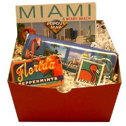 Miami Travel Gift Box