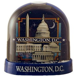 Washington DC Snow Dome