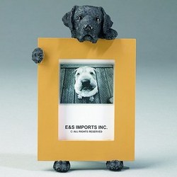 Pawfect Black Labrador Dog Picture Frame