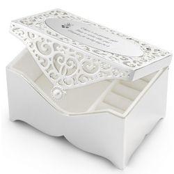 Engravable Filigree Jewerly Box