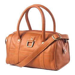 Women's Buckle Barrel Handbag