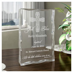 Personalized On Your Baptism Day Block