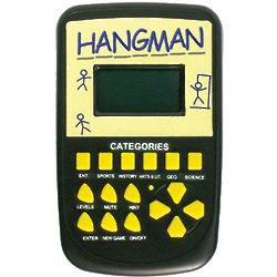 Electronic Handheld Hangman