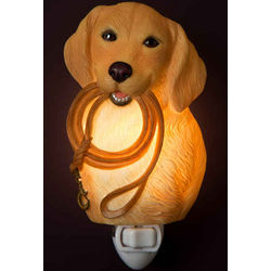 Yellow Lab Night Light