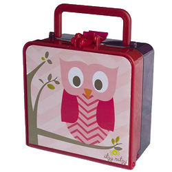 Hoot Lunch Happens Bento Lunch Box