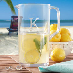 Unbreakable Acrylic Personalized Pitcher